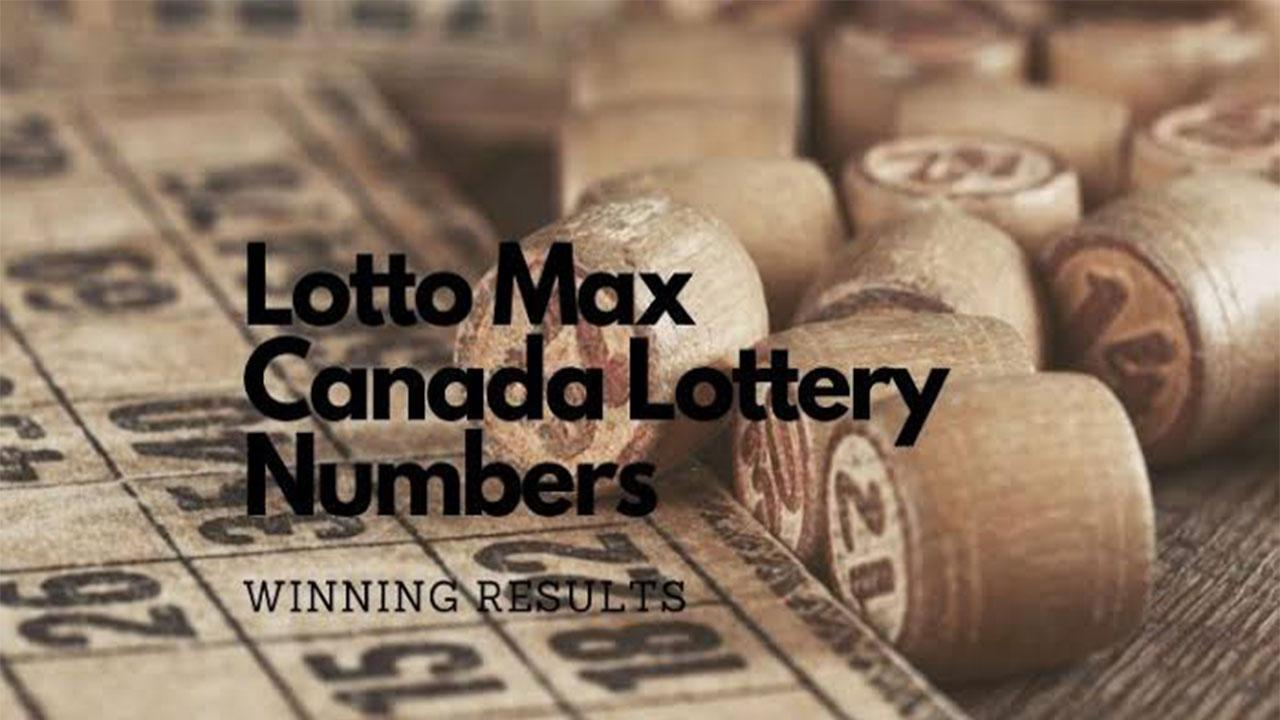 Lotto Max Canada lottery winning numbers for 23 July, 2021