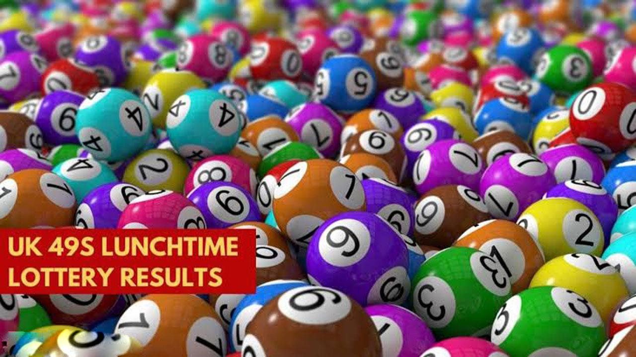 Results of UK49 Lunchtime lottery draw for July 19, 2021; check numbers